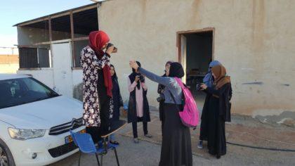 مركز حملة ينظم تدريبات تصوير واعلام اجتماعي في قرية الزرنوق غير المعترف بها في النقب