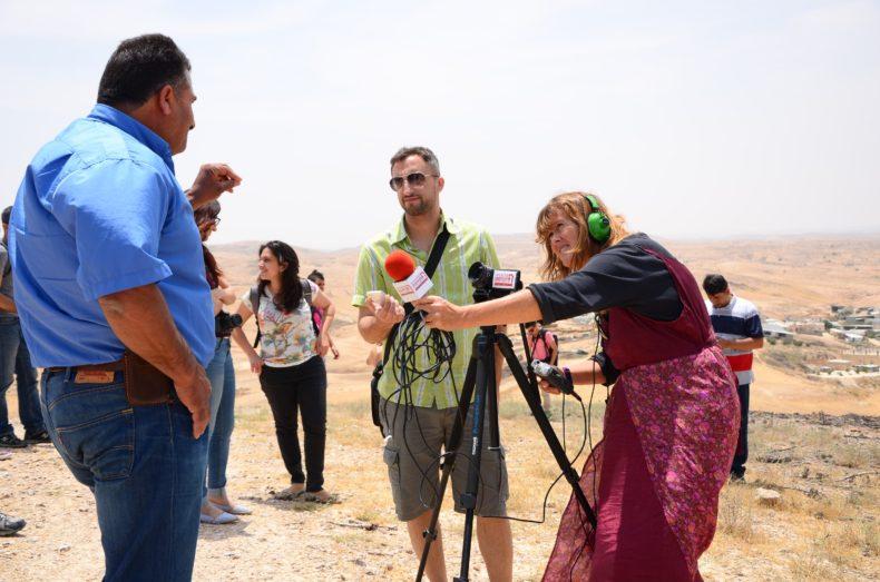 7amleh & Adalah Center's Citizen Journalism Trip to Um Al Hiran