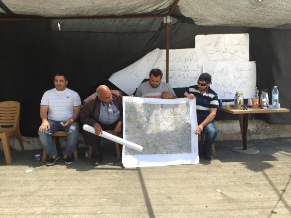 #Dahmash: 7amleh solidarity tour to neighbourhoods of Lydda, Ramle and Dahmash