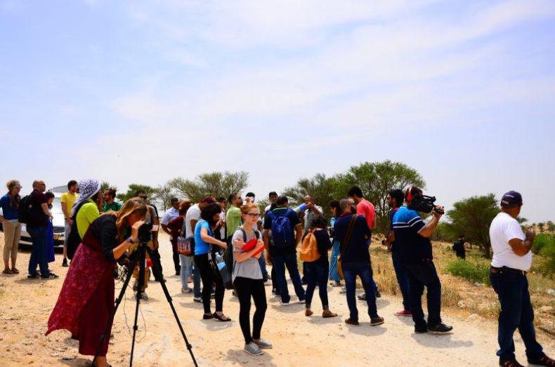مركز حملة ومركز عدالة في جولة ميدانية إلى عتير أم الحيران