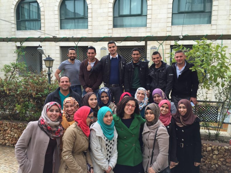 "7amleh Successfully Completes Training Course in ""Social Media Marketing for Campaigns"" in Nablus"