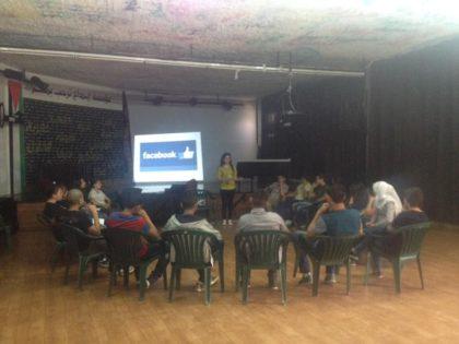 """""""حملة"""" يختتم دورة إضافية في الإعلام الرقميّ بالتعاون مع """"إبداع"""" في الدهيشة"""