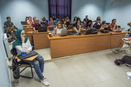 حملة تنظم ورشة لإثراء المحتوى الفلسطيني في ويكيبيديا بجامعة بير زيت