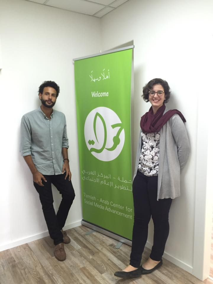 Crowdfunding Workshop at 7amleh with BuildPalestine