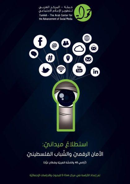 """مركز """"حملة"""" يصدر نتائج استطلاع حول الأمان الرّقميّ لدى الشّباب الفلسطينيّ"""