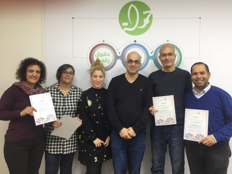 New Group of Digital Campaign Managers Graduate from Training for Non-Profit Organisations provided by 7amleh Center