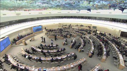 مركز حملة يعبر عن قلقه الشديد بشأن تزايد انتهاكات الحقوق الرقمية الفلسطينية في مجلس حقوق الانسان التابع للأمم المتحدة