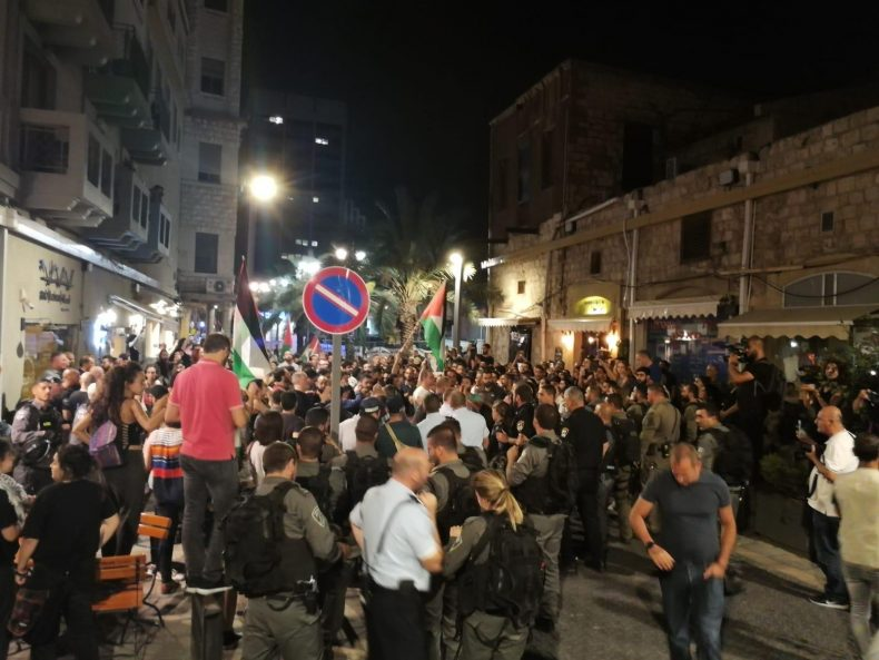 Palestinian Civil Society Organizations in Israel: Demand Immediate Release of the Detained, Peaceful Protesters in Haifa and Investigation into the Use of Brutal, Excessive Force by Israeli Police against Them