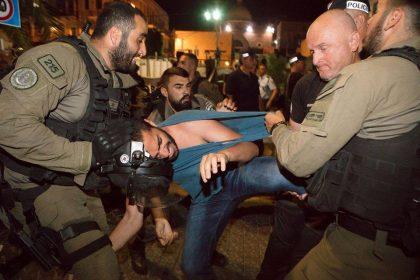 منظمات المجتمع المدني الفلسطينية تطالب:   الإفراج الفوري عن جميع المعتقلين في التظاهرة السلمية في حيفا  والتحقيق في استعمال الشرطة للقوة الوحشية والمكثّفة ضدهم