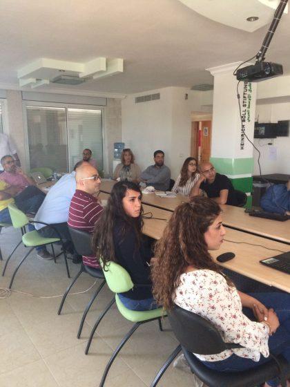 مركز حملة ينظم جلسة حوارية بين شركة فيسبوك ومندوبي المجتمع المدني الفلسطيني