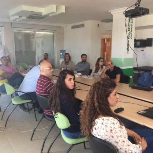 7amleh Center holds dialogue-session with Facebook representatives and Palestinian civic society representatives