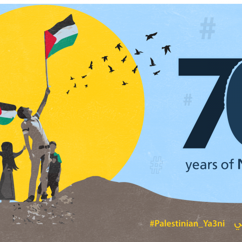 Twitter storm 'Meaning of being Palestinian' in commemoration of Palestinian Nakba