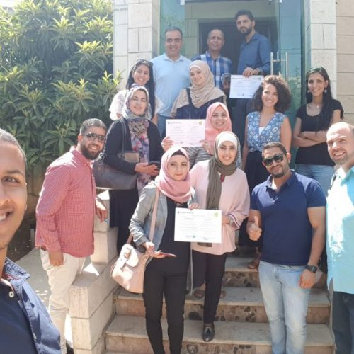 7amleh Center graduates new cycle of course  on digital marketing campaigns for civil society organizations in Ramallah