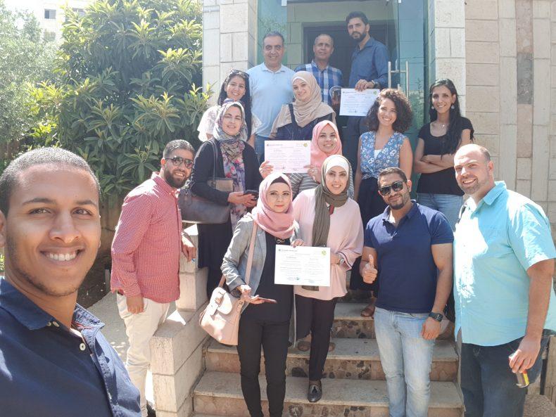 مركز حملة يخرج فوجًا جديدًا من الدورة التدريبية في الحملات والتسويق الرقمي لمؤسسات المجتمع المدني في رام الله