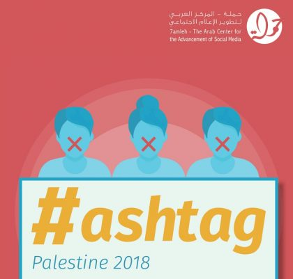 Hashtag Palestine 2018 – Annual Digital Rights Report
