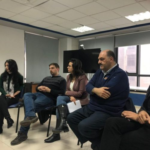 7amleh Center holds roundtable discussion on PayPal policies in Palestine