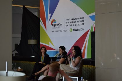 7amleh delegation participates in RightsCon