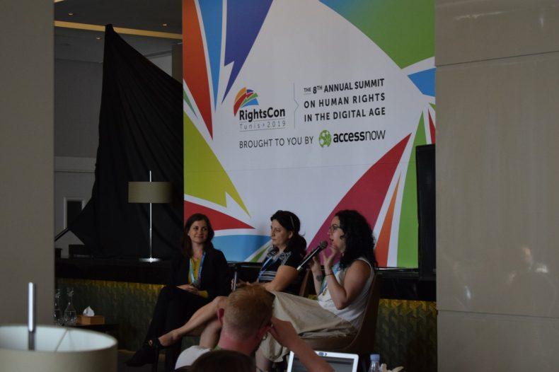 7amleh delegation participates in RightsCon
