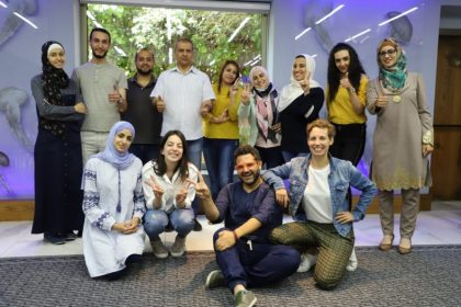 7amleh Center holds training on digital storytelling