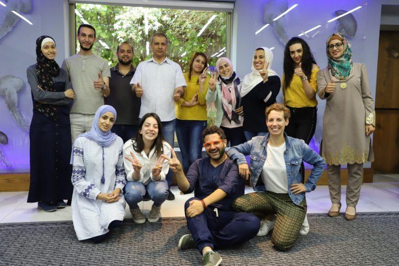 7amleh Center holds training on digital storytelling