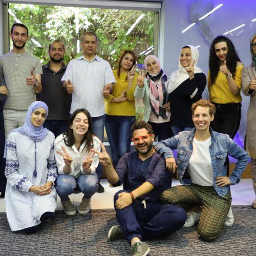 مركز حملة ينظم تدريب رواية القصة الرقمية