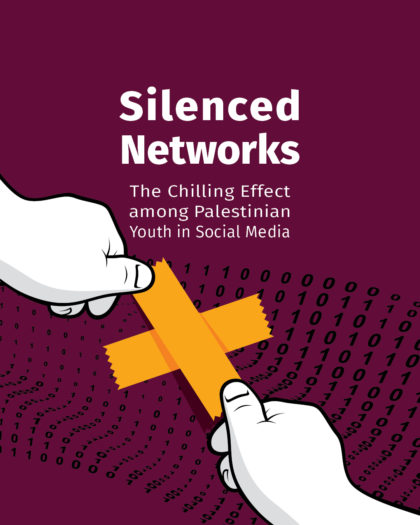 """""""Silenced Net: The Chilling Effect among Palestinian Youth in Social Media"""""""