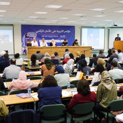 """""""حملة"""" و""""تطوير الإعلام"""" ينظمان في جامعة بيرزيت مؤتمر التربية على الأمان الرقمي"""