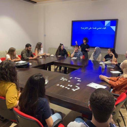 مركز حملة يدرب أكثر من 2000 شاب/ة من خلال مشروع الأمان الرقمي للعام 2019